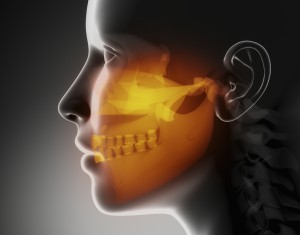 Maxillofacial concept  x-ray jaws